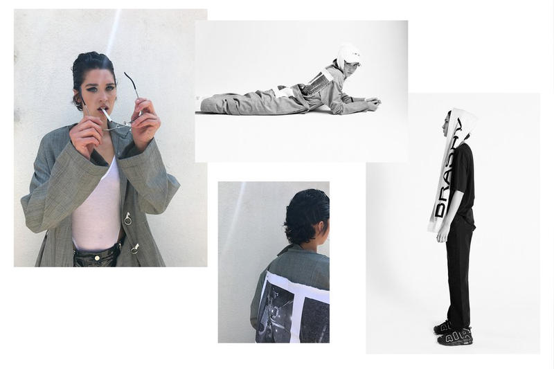 Brashy Studios LA lookbook pre spring 2018 unisex genderless clothing