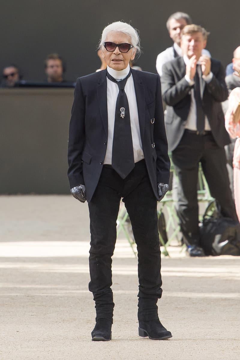 Karl Lagerfeld Recreates Eiffel Tower for Chanel | HYPEBAE