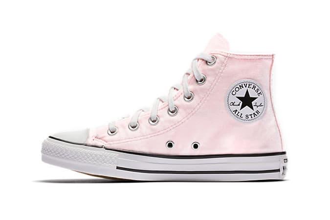 1699230ff3a3bd Converse Chuck Taylor All Star Velvet Pink High Top