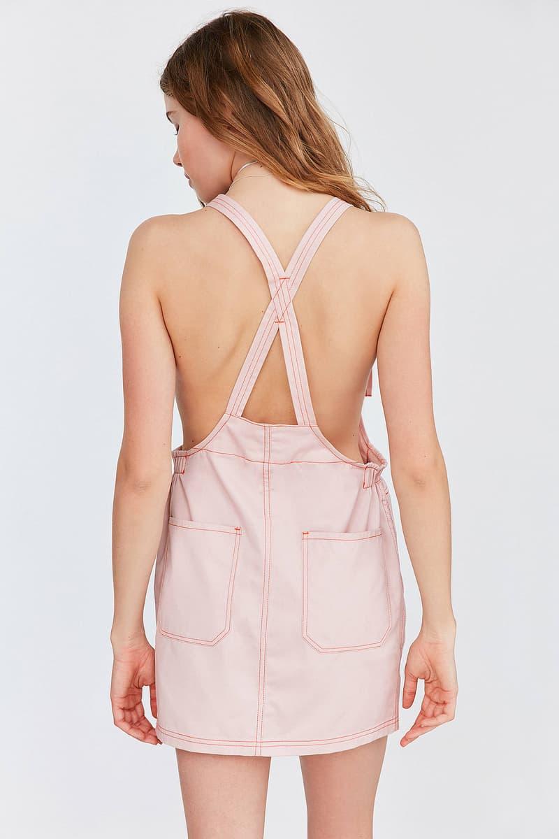 Dickies Urban Outfitters Bib Mini Dress