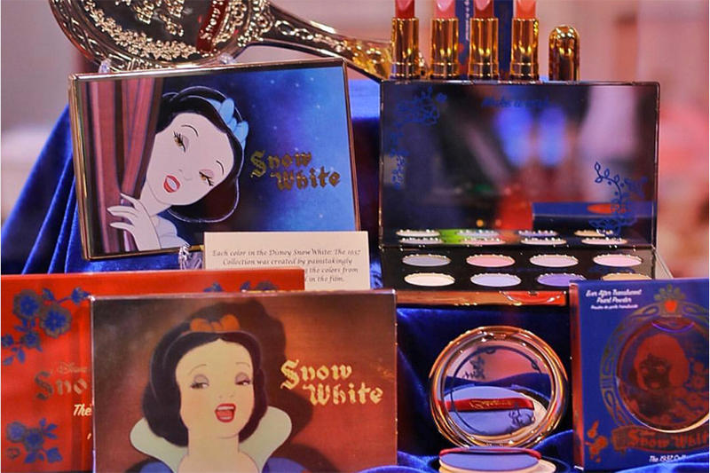 Snow White Makeup Disney Besamé Cosmetics Collection Collaboration D23 Expo Beauty 80th Anniversary