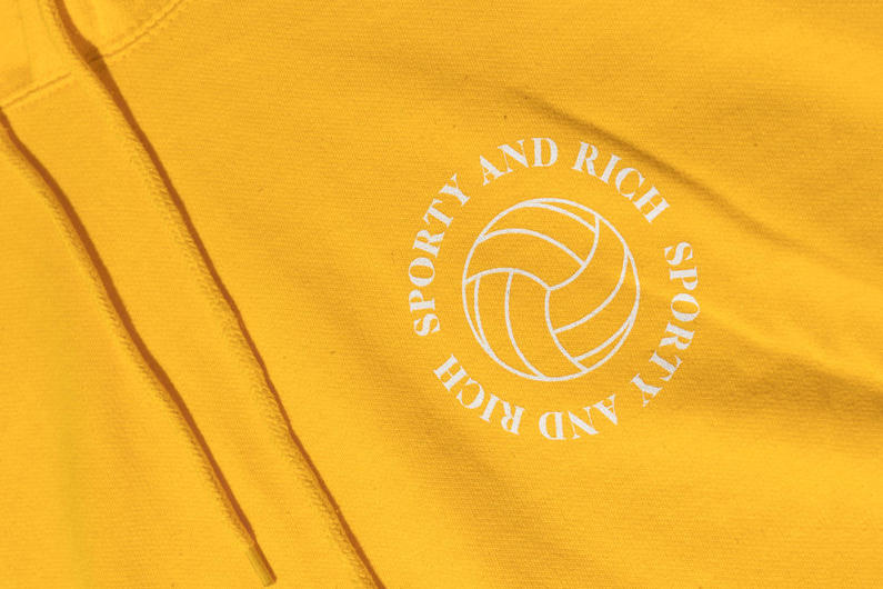 Emily Oberg Sporty & Rich Volleyball Hoodie Tee