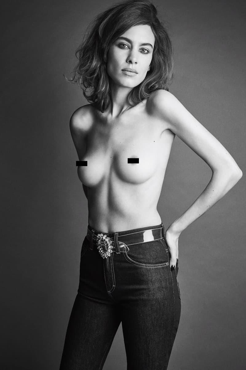 Emily Ratajkowski Nude Love Magazine