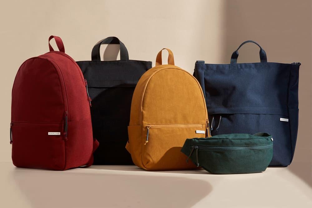 everlane minimalist street nylon bags tote backpacks fanny packs