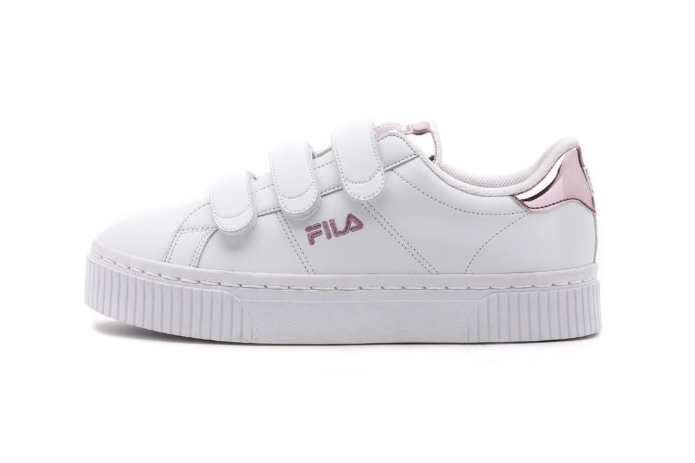 FILA Court Deluxe Bold Shiny Rose Gold