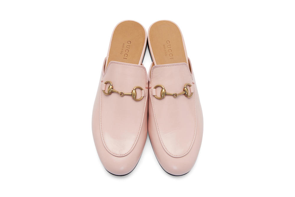 Gucci Princetown Leather Slipper Pink