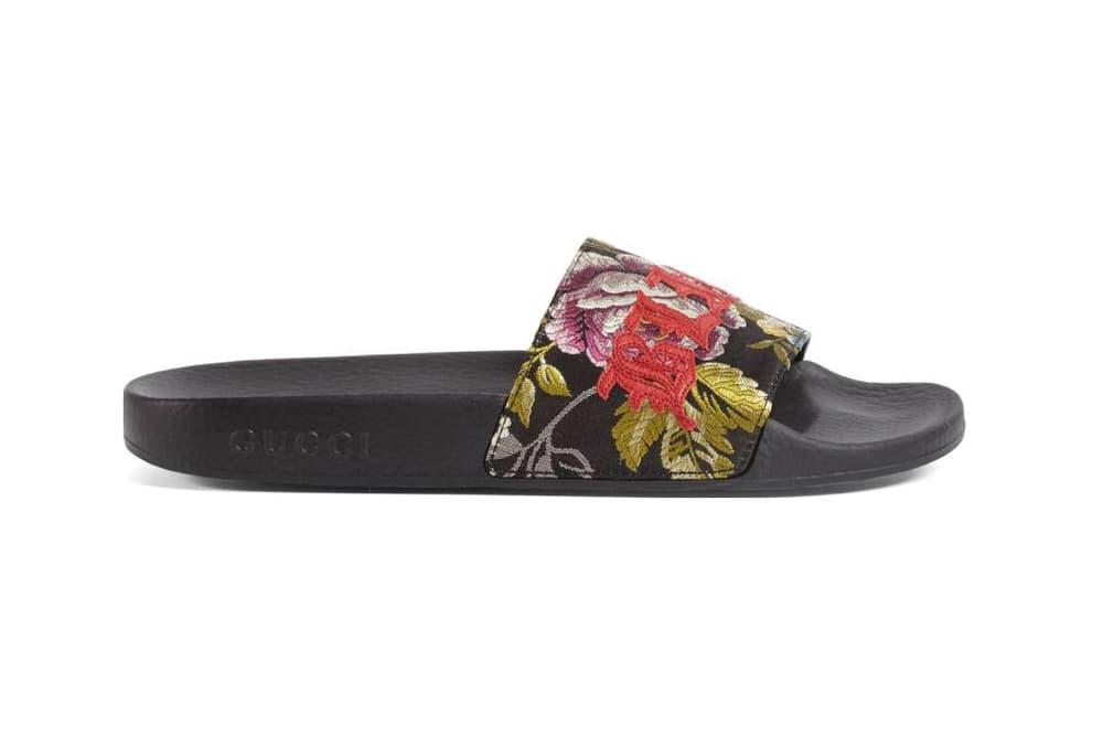 Gucci Pursuit Blind for Love Slide Sandal