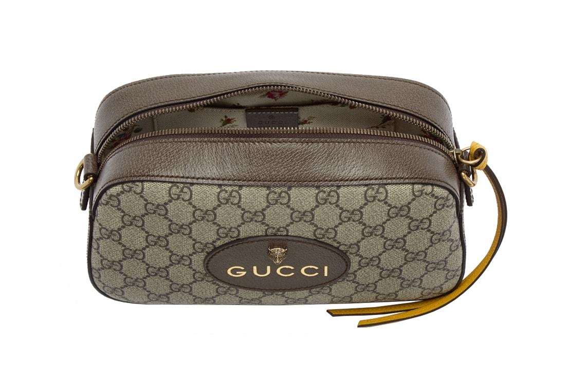 Gucci Small Supreme Camera Bag Is For Essentials | HYPEBAE