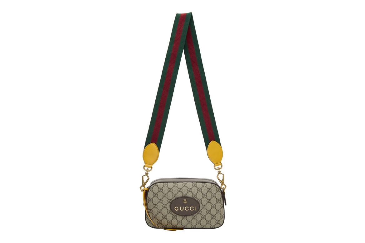 Gucci Small Supreme Camera Bag Is For Essentials | HYPEBAE