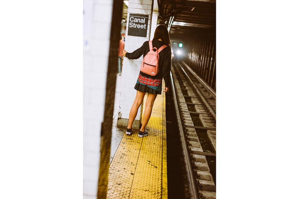 herschel supply nyc 2017 fall range travelers commuters backpacks messenger bags luggage