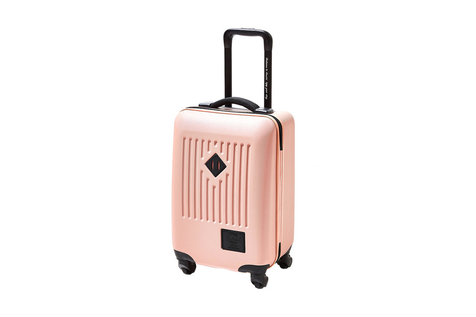 Travel Light in Herschel Supply s Pink Carry-On  c8df4ab83557f