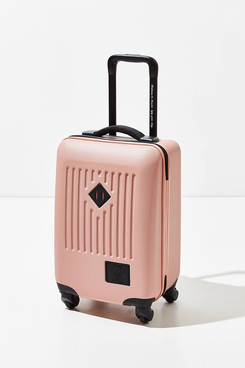 Herschel Supply Hard Shell Carry-On Luggage Pink