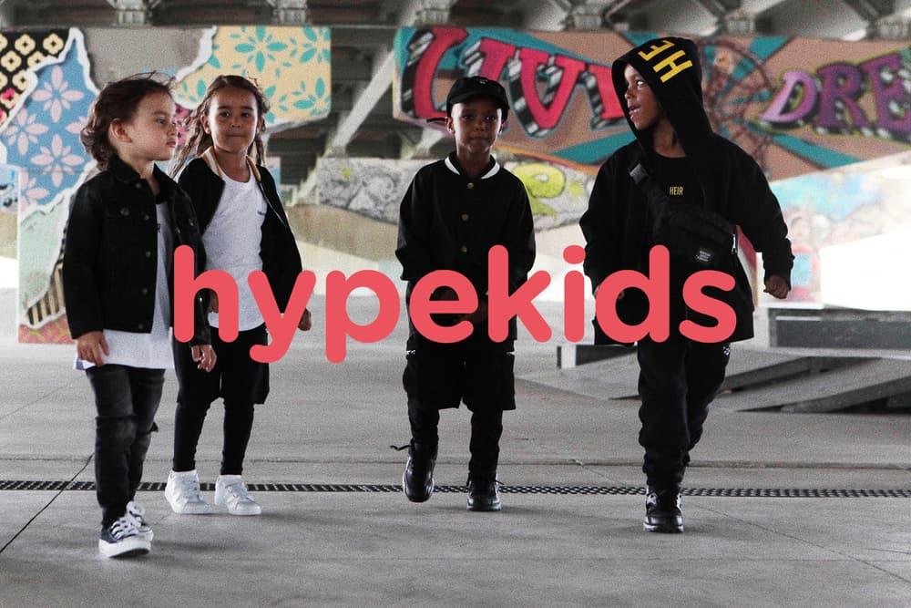 hypebeast kids children streetwear sneakers youth hypekids