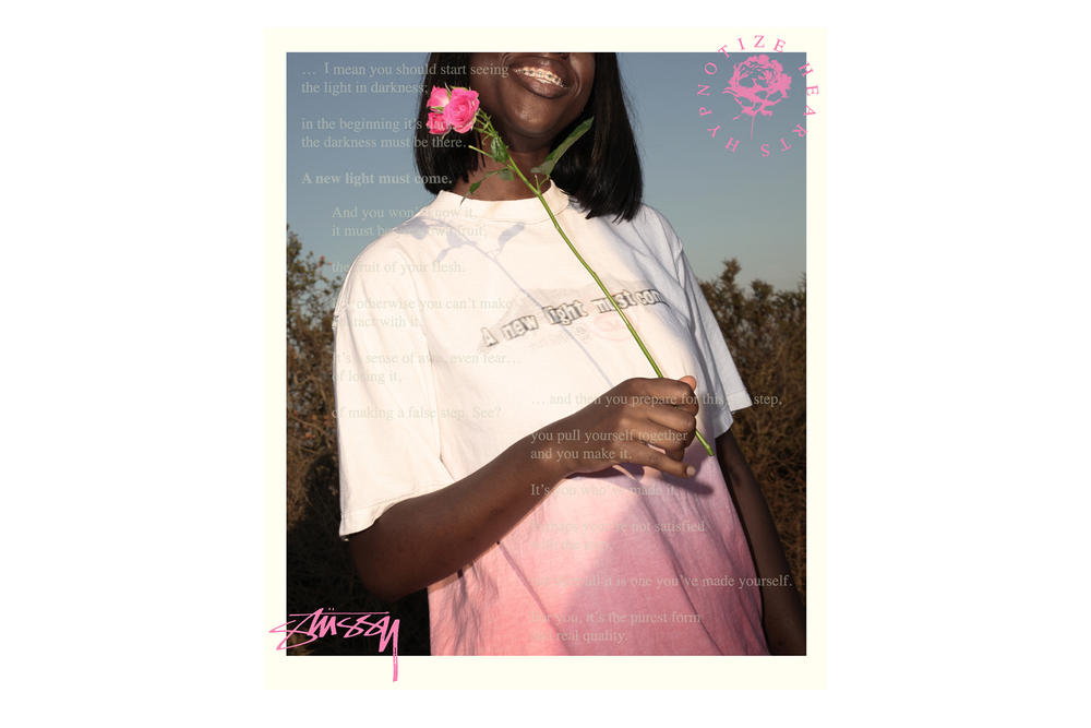 hypontize Hearts Stussy Exclusive Tees