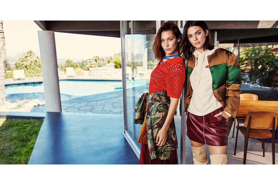 Kendall Jenner Bella Hadid 2017 Ochrily Fall Campaign