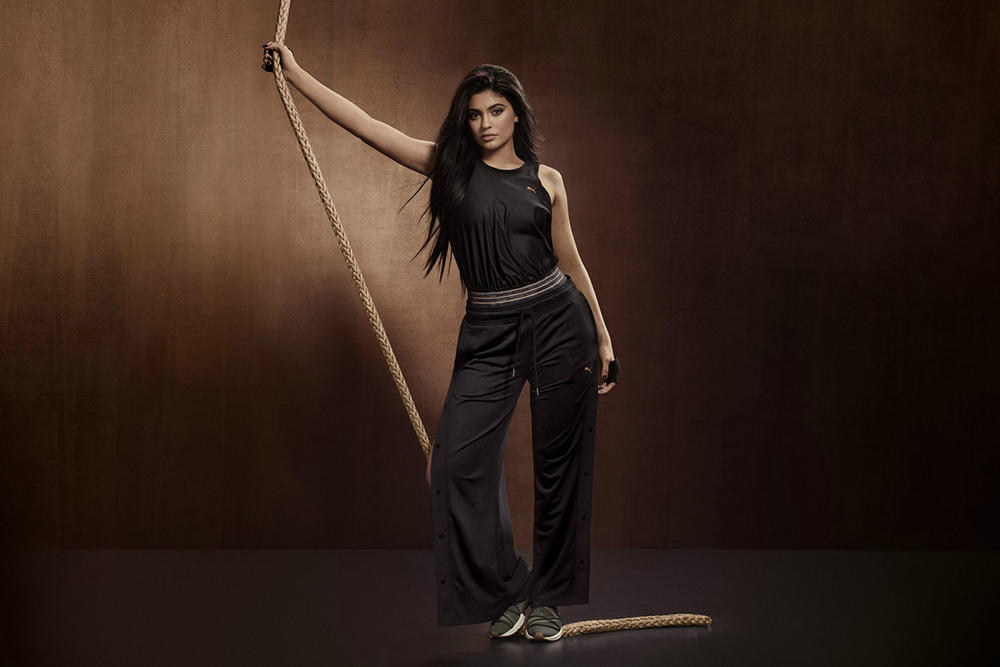 Kylie Jenner PUMA Velvet Rope Collection Campaign Video Fierce Rope