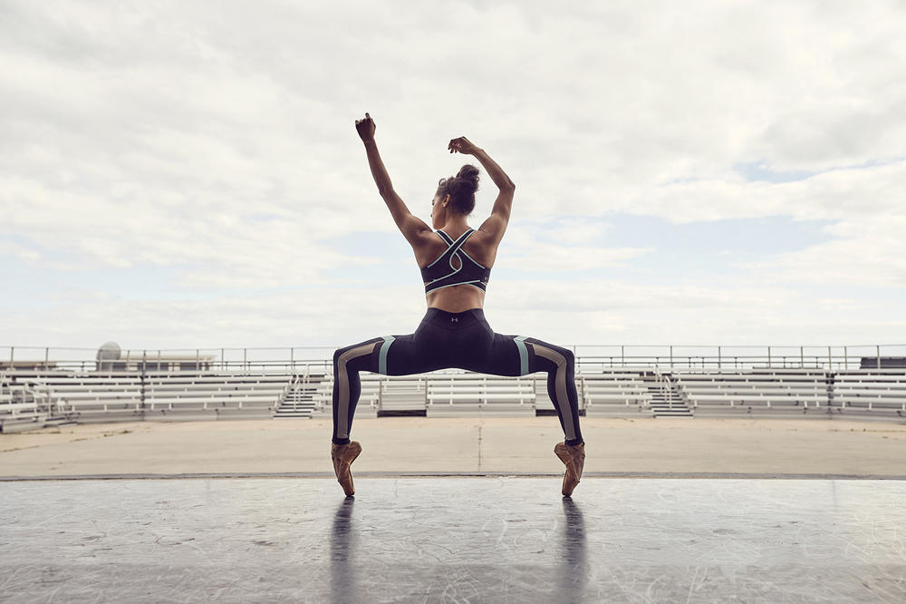 Misty Copeland Under Armour 2017 Fall Winter Collection