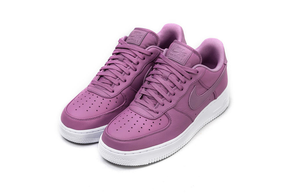 newest 014d8 a3ddc Nike's Air Force 1 '07 Premium in Violet Dust | HYPEBAE