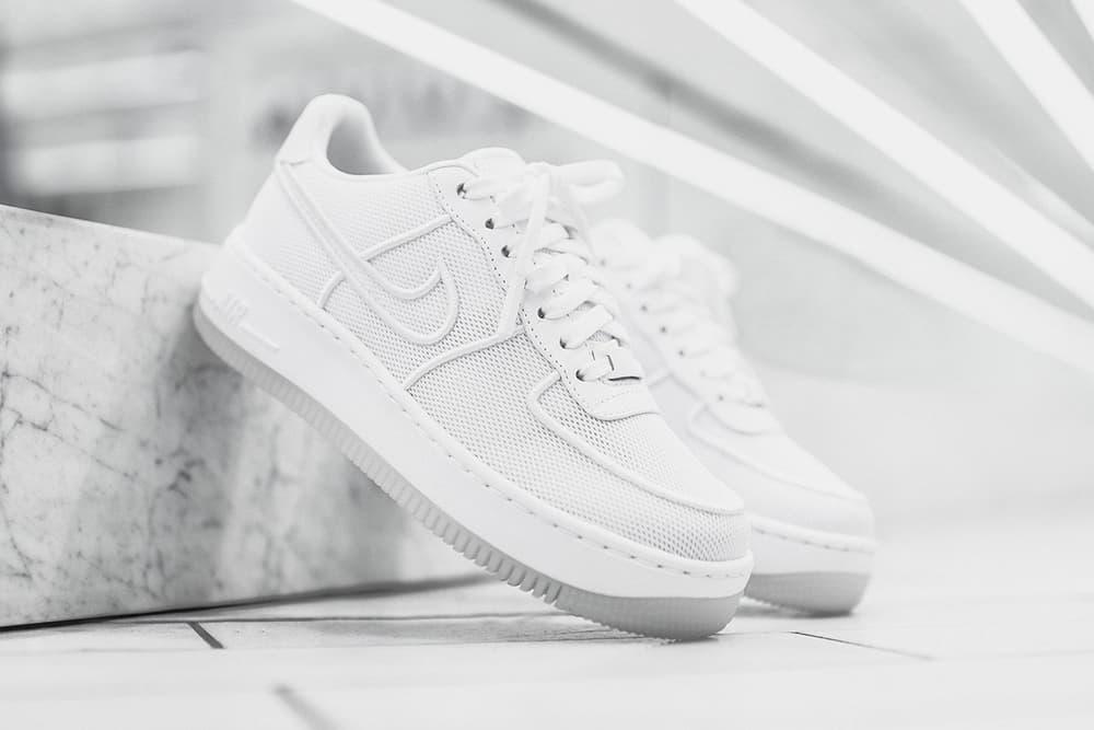 Nike Air Force 1 Upstep Low Triple White