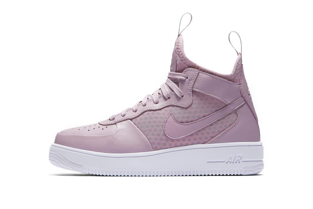 8e2412553228c1 Nike Air Force 1 UltraForce Mid Is Lavender   HYPEBAE