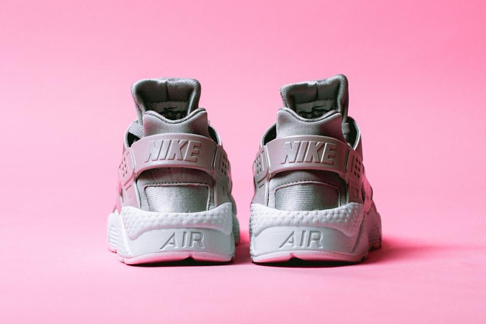 4ea04a9e7cad Nike Air Huarache Run Premium Metallic Silver