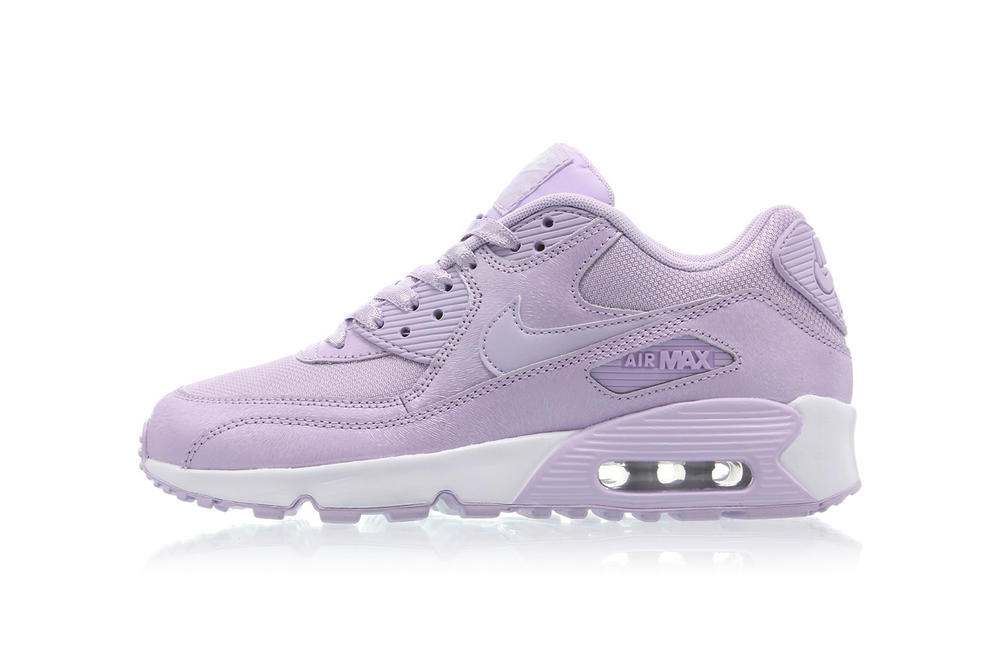 66f399c1d0c Nike Air Max 90 SE Mesh Releases in Violet Mist