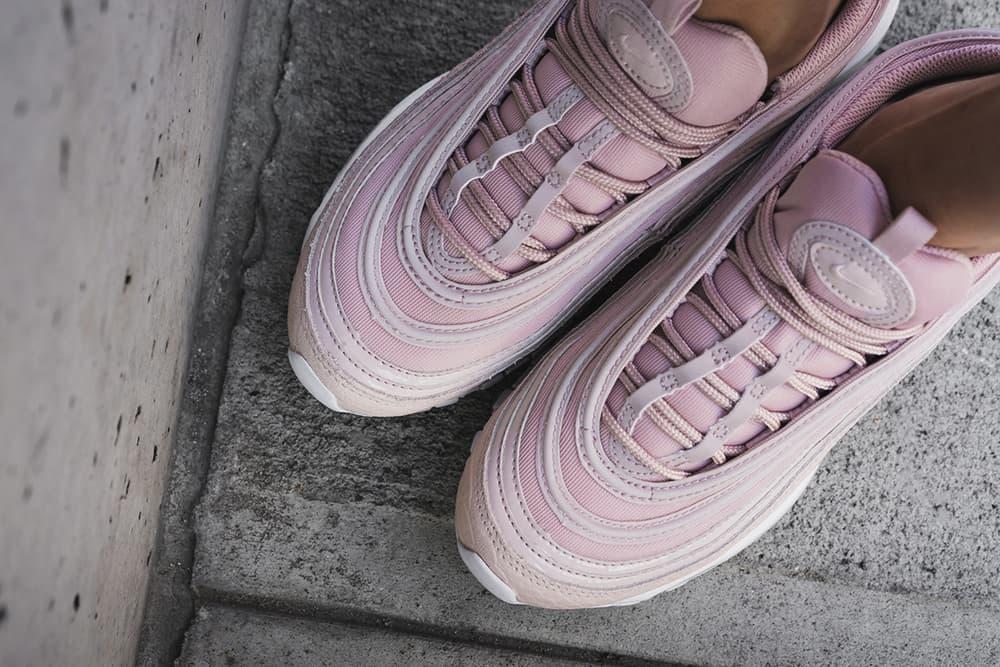 Nike Air Max 97 Pink Snakeskin Millennial Pastel Light
