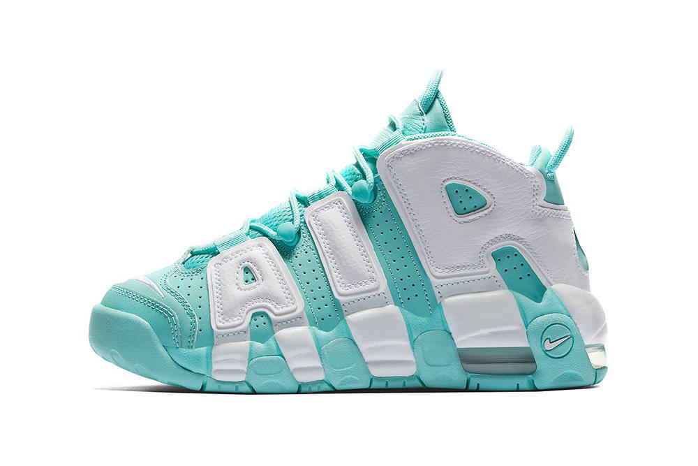 Nike Air More Uptempo Island Green