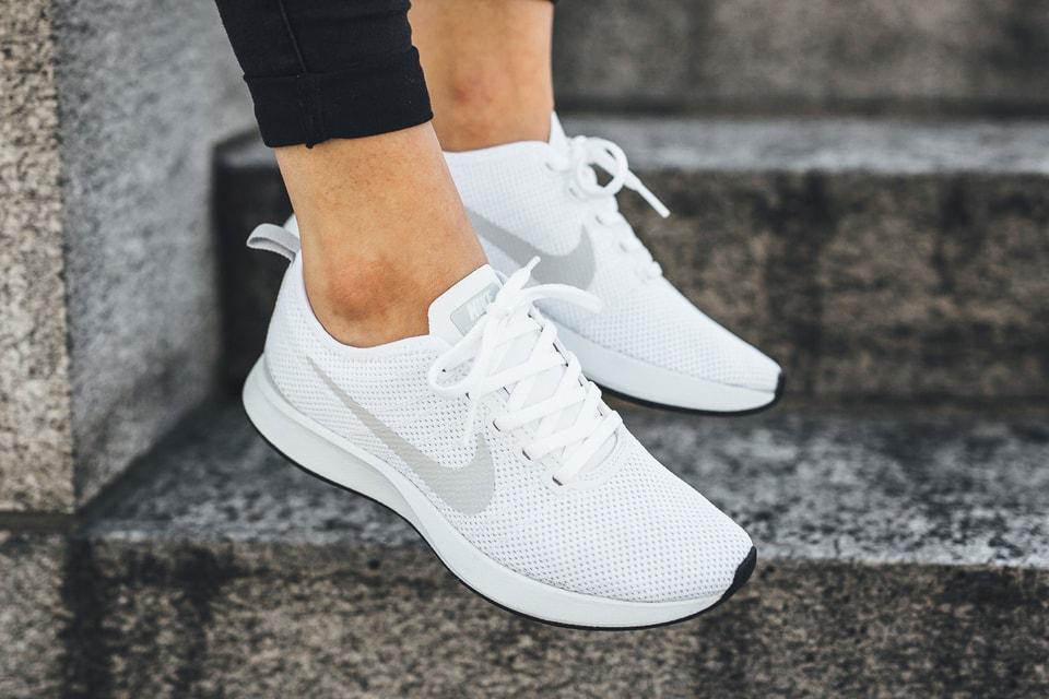 purchase cheap e56f1 fc204 Nikes Newest Dualtone Racer Is All White  HYPEBAE
