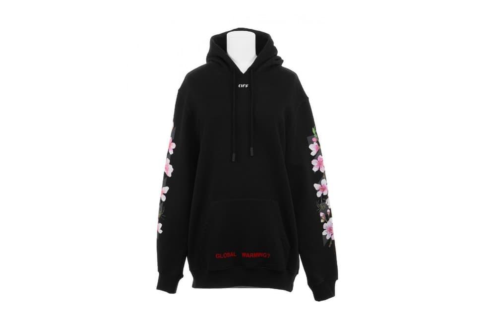 OFF-WHITE Cherry Blossom Hoodie