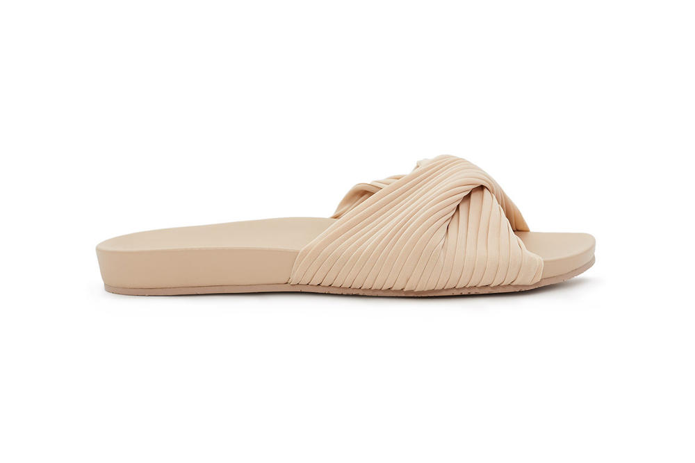 Opening Ceremony Paulyna Slides Sandals Nude Black
