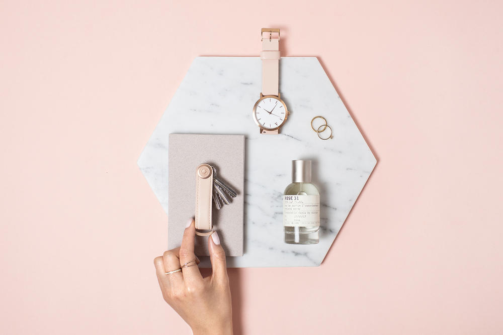 Orbitkey Rose Gold Collection