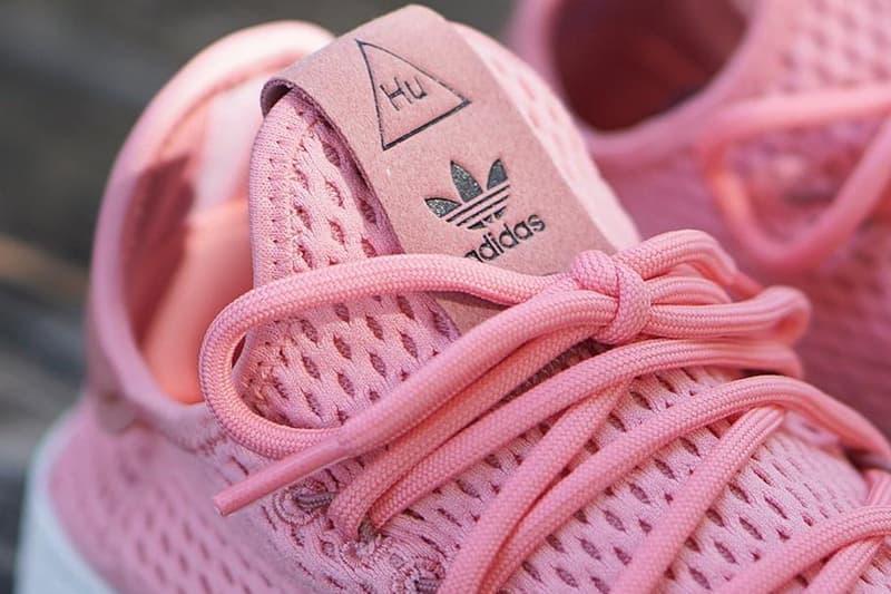 Pharrell Williams adidas Originals Tennis Hu Raw Pink