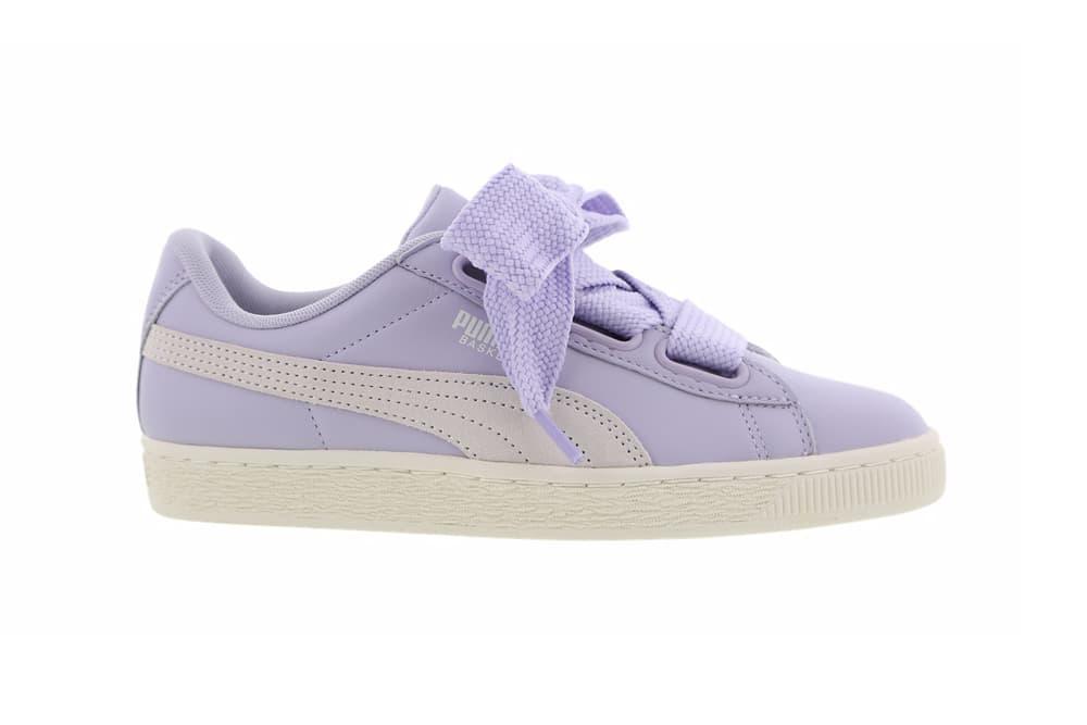 PUMA Basket Heart Lilac