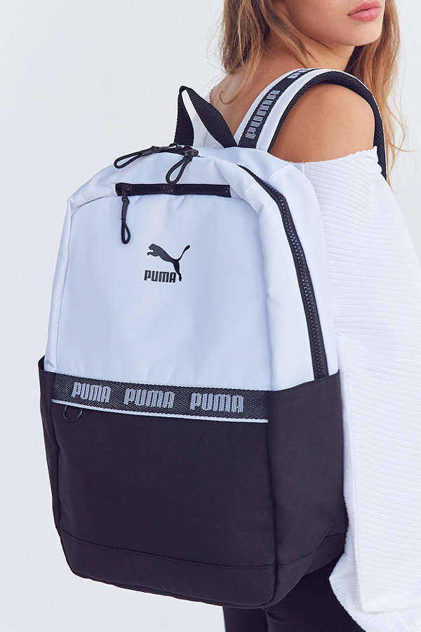 PUMA Linear Backpack Pink Blue