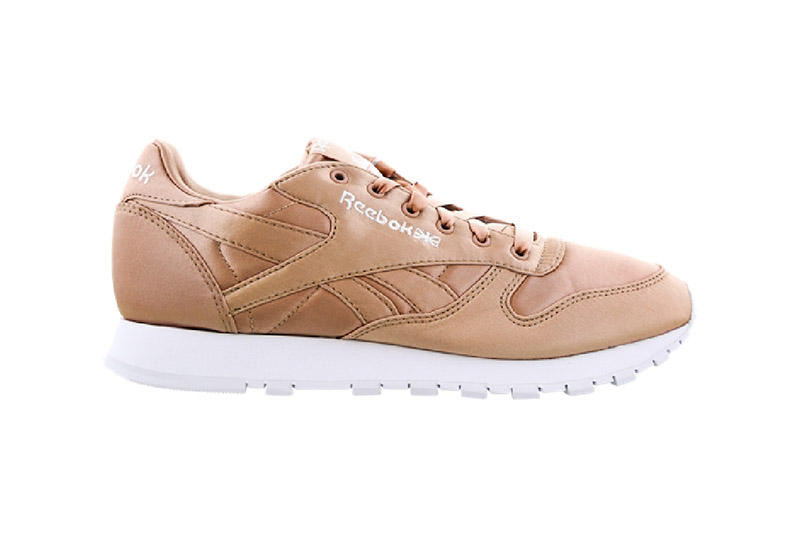 Reebok Classic Leather Satin Dusty Pink Rose Gold