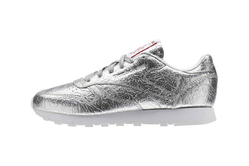 Reebok Classic Leather Silver Met