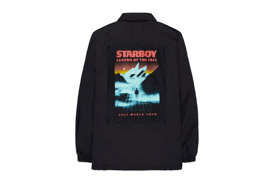 New Fashion The Weeknd Legend of the Fall Tour Merch TShirt One Fan Starboy