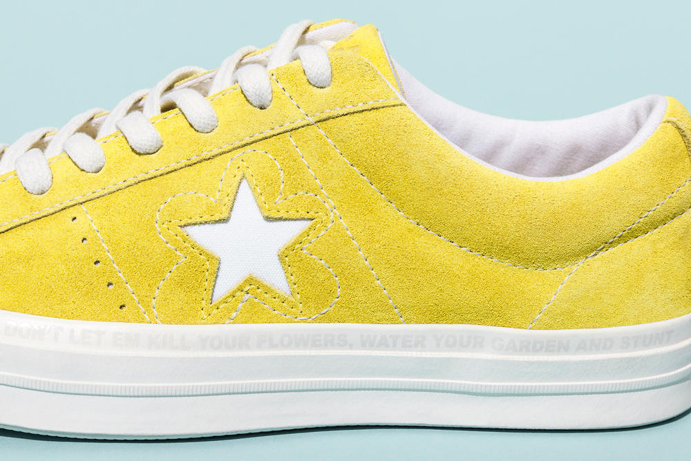 Tyler The Creator Converse One Star Golf le Fleur