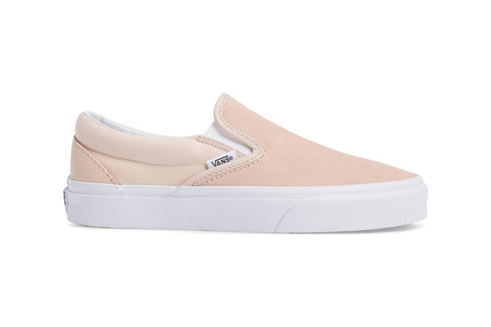 b5c1025eb98ac0 Vans Covers the Slip-On in Pink Suede
