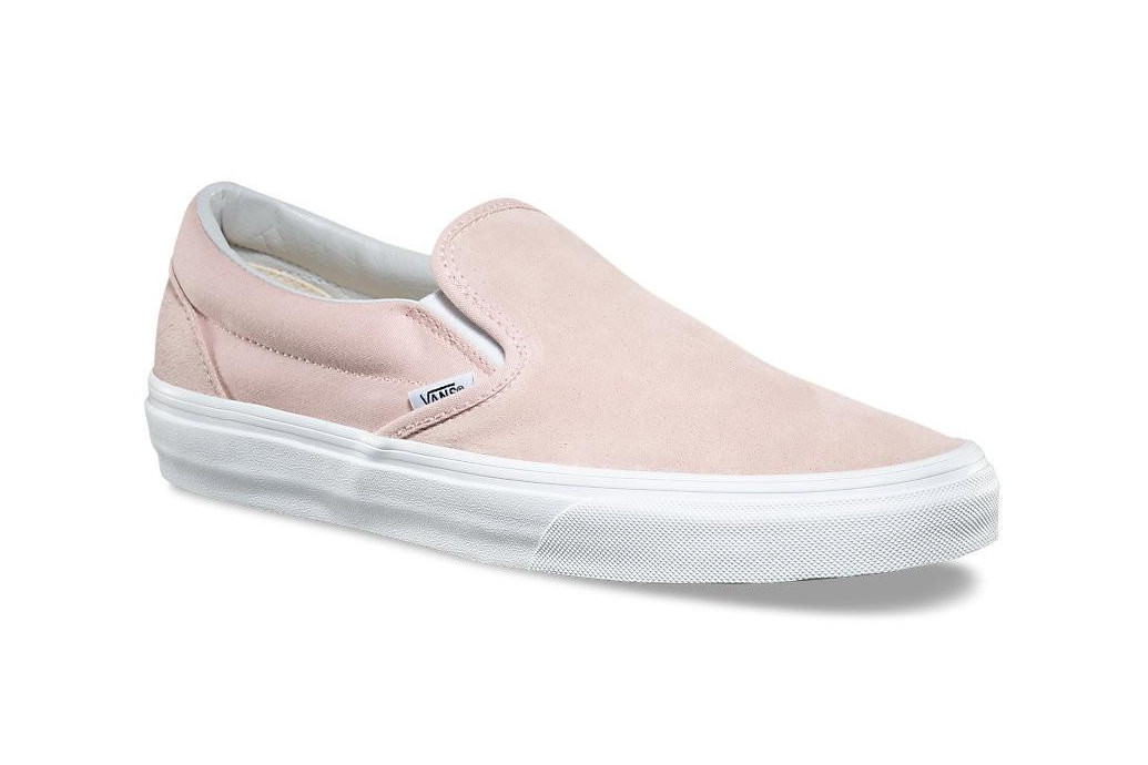 Vans Covers the Slip-On in Pink Suede