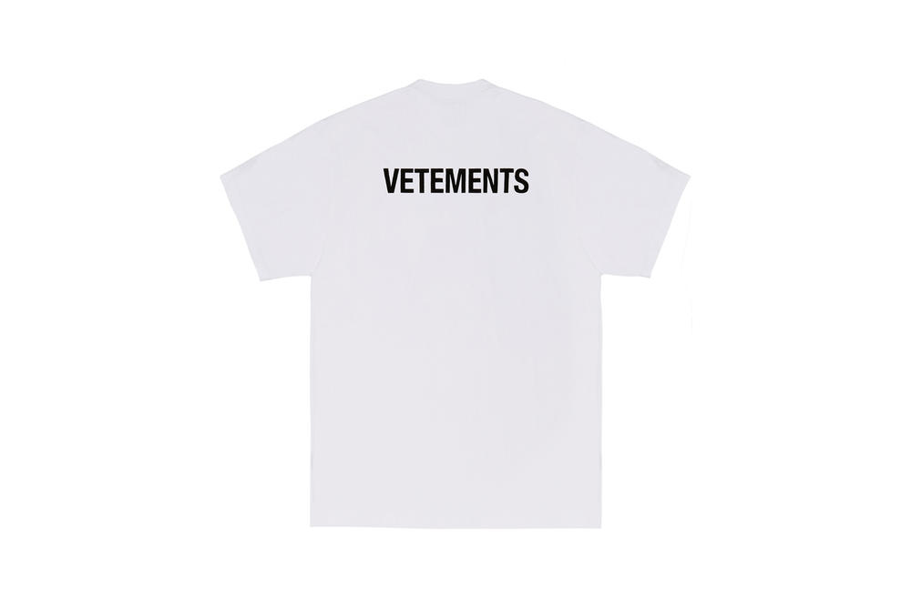 Vetements 2017 Fall Winter Collection Dover Street Market London