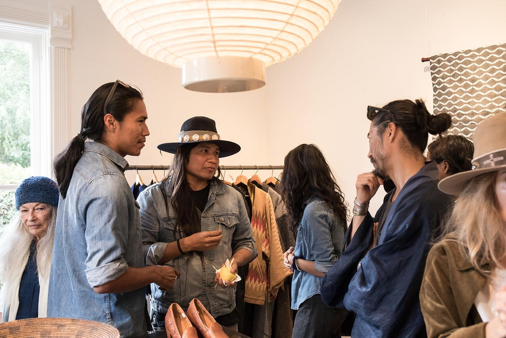 visvim store usa new mexico santa fe flagship interior