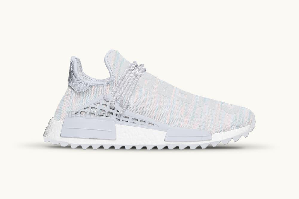 pharrell adidas originals nmd human race tr clear grey