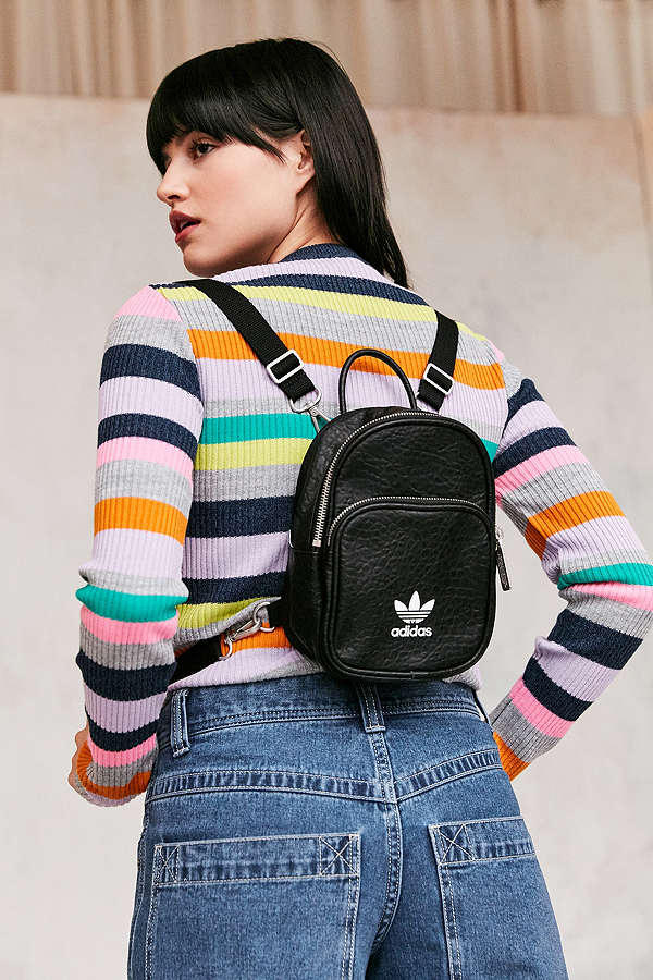 faea184b26 adidas originals classic mini backpack faux leather black