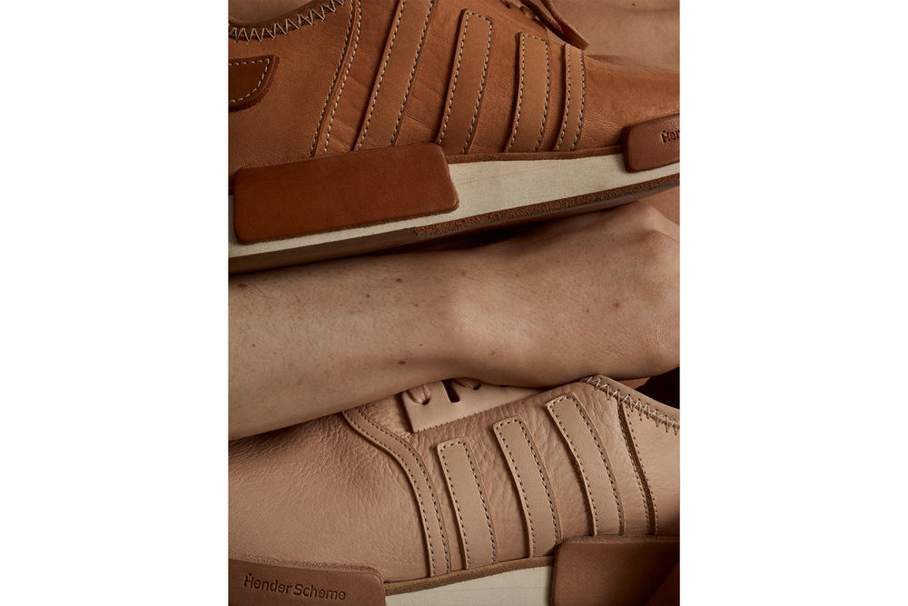 Hender Scheme adidas Originals 2017 Fall Collaboration NMD R1 Superstar Micropacer Campaign Tokyo Nude Leather Tan