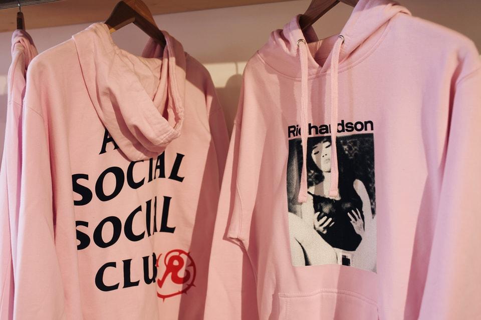 251f12e324f2 Inside Anti Social Social Club x Richardson s Pop-Up