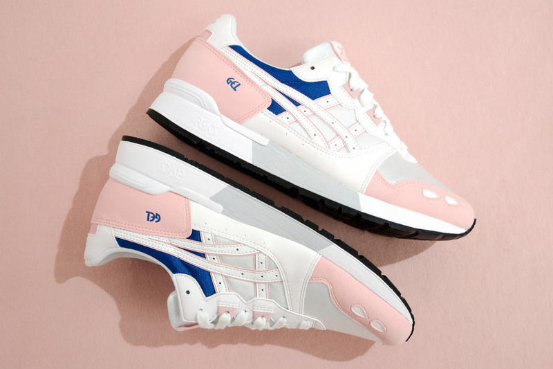 ASICS GEL-Lyte Lady Evening Sand White women pink blue