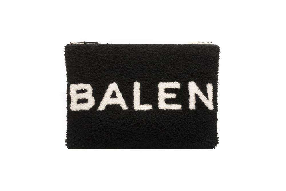 Balenciaga Shearling Fur Pouch