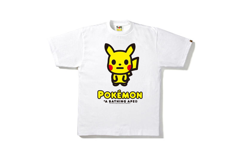 2355b913 BAPE Releases Super Cute Pokemon Collection | HYPEBAE